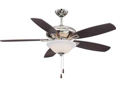 Savoy House Casual Lifestyles Mystique Polished Nickel Three-Light 52W Ceiling Fan SV528315RV109