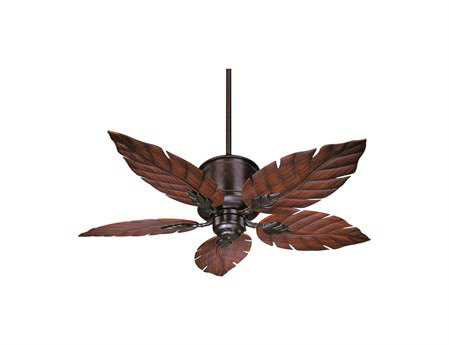 Savoy House Outdoor Living Portico English Bronze 52W Outdoor Ceiling Fan SV520835RO13