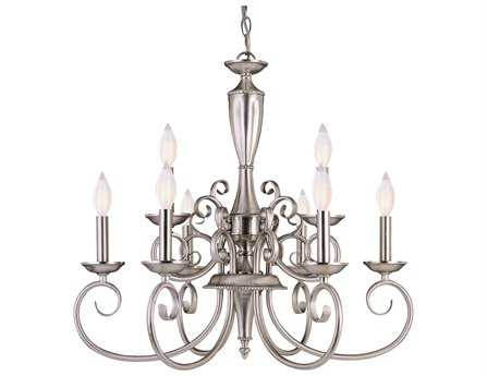 Savoy House Main Street Spirit Pewter Nine-Light 23'' Wide Mini Chandelier SVKP15007969