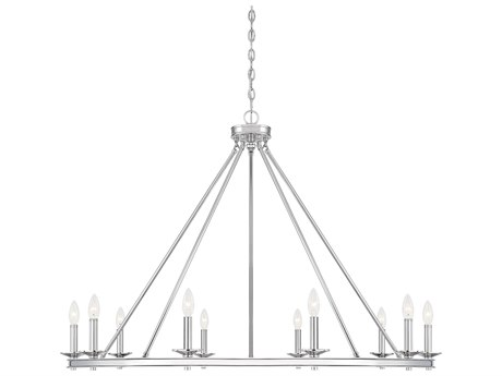 Savoy House Middleton Polished Nickel 10-light 45'' Wide SV131010109