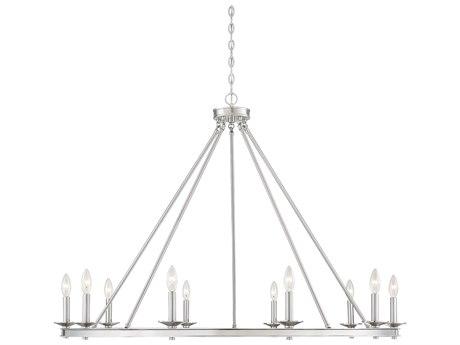 Savoy House Middleton Satin Nickel 10-light 45'' Wide SV131010SN