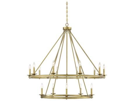 Savoy House Middleton Warm Brass 15-light 45'' Wide SV131215322
