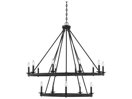 Savoy House Middleton Matte Black 15-light 45'' Wide SV13121589