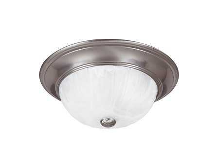 Savoy House Satin Nickel Two-Light Flush Mount Light SV13264SN