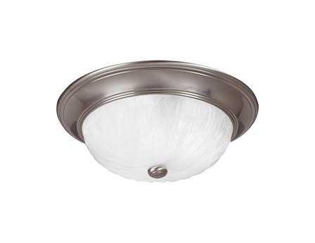 Savoy House Satin Nickel Three-Light Flush Mount Light SV15264SN