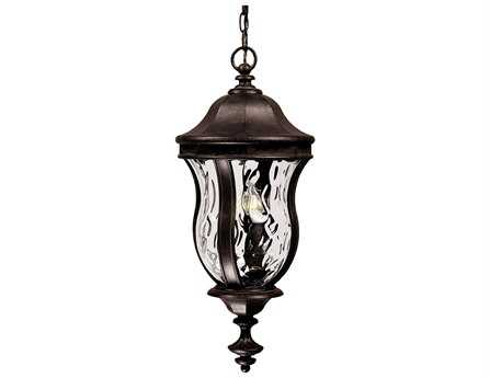 Savoy House Outdoor Living Monticello Walnut Patina Three-Light Outdoor Hanging Pendant SVKP530240