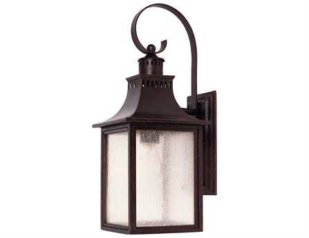 Savoy House Outdoor Living Monte Grande English Bronze Outdoor Wall Light SV525813