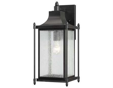 Savoy House Outdoor Living Dunnmore Black Outdoor Wall Light