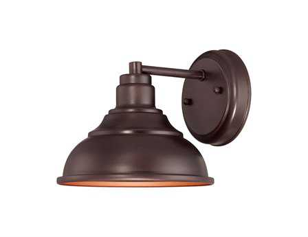 Savoy House Outdoor Living Dunston English Bronze Outdoor Wall Light