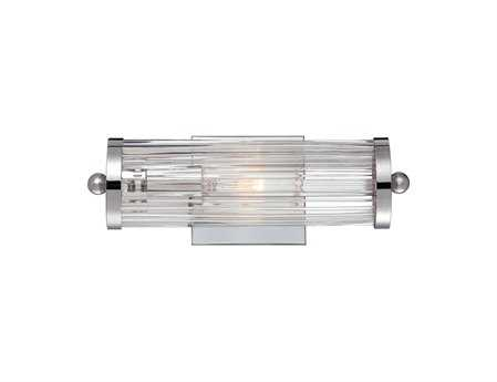 Savoy House Pour Le Bain Lombard Polished Chrome Vanity Light SV86801111