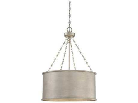 Savoy House Rochester Silver Patina Four-Light 19'' Wide Pendant Ceiling Light SV7487453
