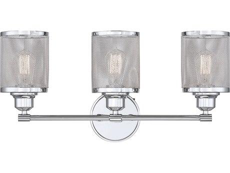 Savoy House Salvador Polished Chrome 3-light Vanity Light