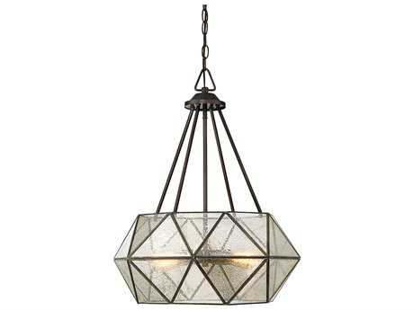 Savoy House Tartan Oiled Burnished Bronze Four-Light 20.13'' Wide Pendant Light SV79008428