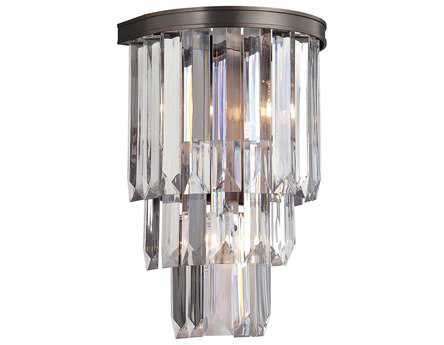 Savoy House Today's Classic Style Tierney Burnished Bronze Two-Light Wall Sconce SV99804228