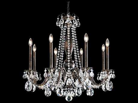 Schonbek Alea Eight-Light 30.5'' Wide Chandelier
