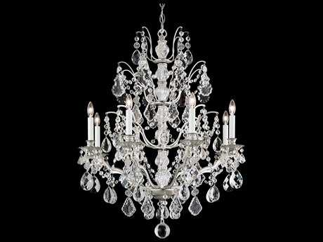 Schonbek Bordeaux Eight-Light 28'' Wide Chandelier