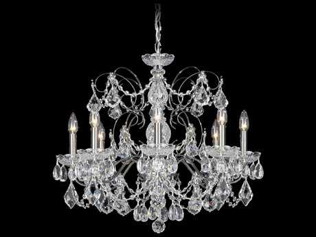 Schonbek Century Eight-Light 24'' Wide Chandelier