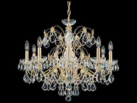 Schonbek Century Nine-Light 26'' Wide Chandelier
