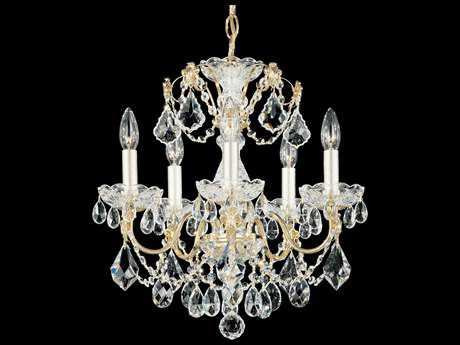 Schonbek Century Five-Light 17'' Wide Mini Chandelier S51704