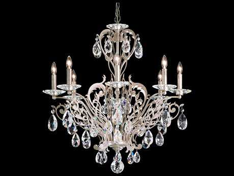 Schonbek Filigrae Eight-Light 26'' Wide Chandelier