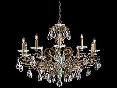 Schonbek Filigrae Ten-Light 32.5'' Wide Chandelier