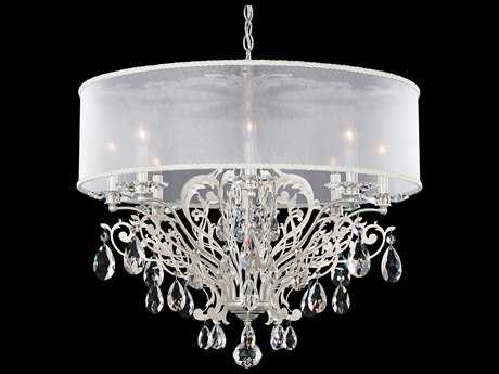 Schonbek Filigrae Eight-Light 28.5'' Wide Chandelier