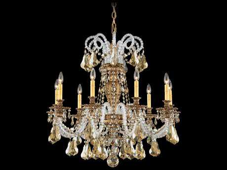 Schonbek Isabelle Nine-Light 31'' Wide Grand Chandelier S56309