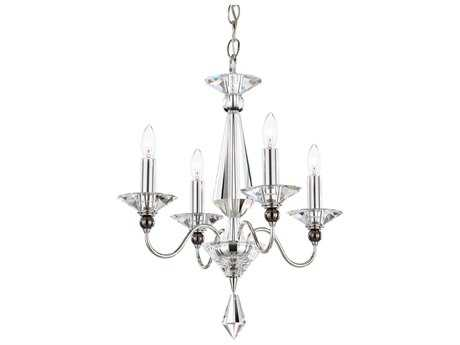 Schonbek Jasmine Four-Light 16'' Wide Mini Chandelier S59674