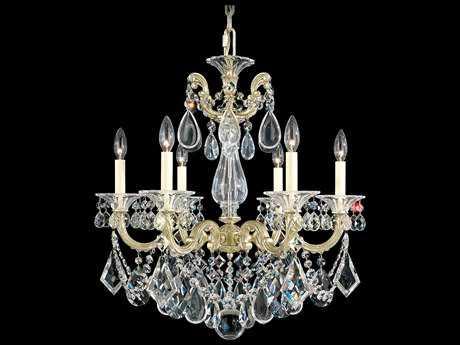 Schonbek La Scala Six-Light 23'' Wide Chandelier S55072