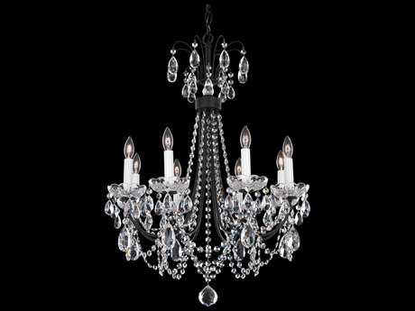 Schonbek Lucia Eight-Light 21'' Wide Chandelier
