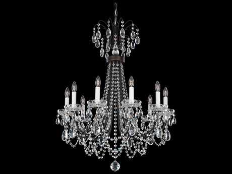 Schonbek Lucia Ten-Light 25'' Wide Chandelier