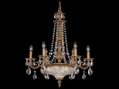 Schonbek Milano Nine-Light 23'' Wide Chandelier