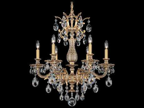 Schonbek Milano Six-Light 24'' Wide Grand Chandelier S55676
