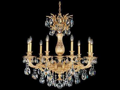 Schonbek Milano Nine-Light 30'' Wide Grand Chandelier S55679