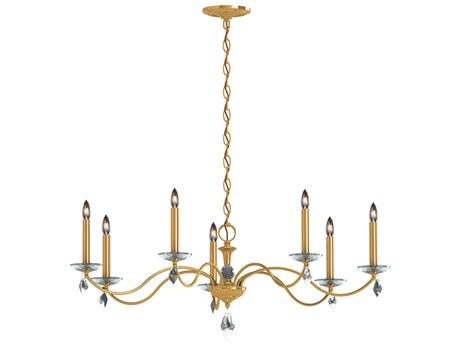 Schonbek Modique Seven-Light 35'' Wide Chandelier