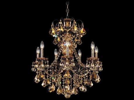 Schonbek New Orleans Seven-Light 24'' Wide Chandelier