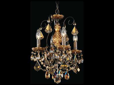 Schonbek New Orleans Four-Light 12'' Wide Mini Chandelier S53648