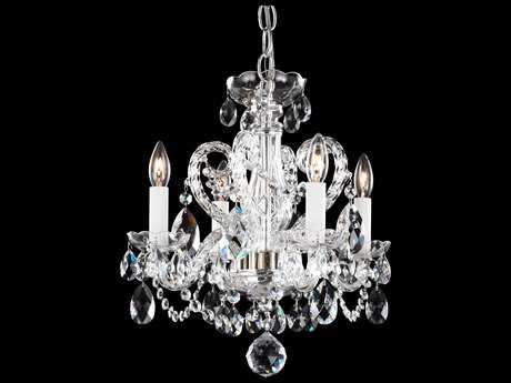 Schonbek Novielle Four-Light 14'' Wide Mini Chandelier S5NV3904