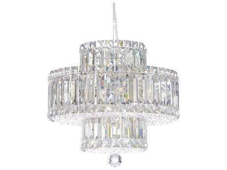 Schonbek Plaza Nine-Light 14'' Wide Mini Chandelier S56671