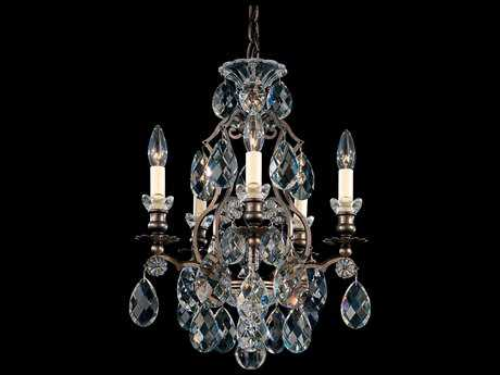 Schonbek Renaissance Five-Light 14'' Wide Mini Chandelier S53769