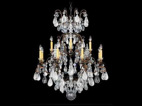 Schonbek Renaissance Rock Crystal 13-Light 32'' Wide Grand Chandelier S53572