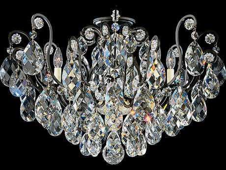 Schonbek Renaissance Eight-Light Semi-Flush Mount Light S53785