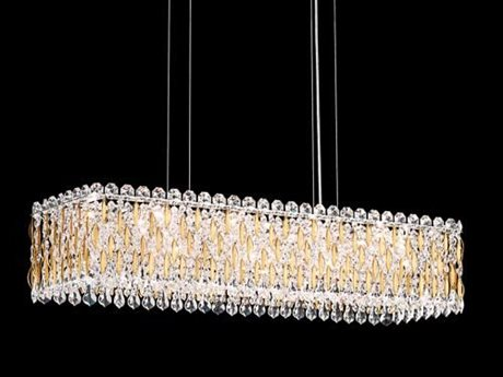 Schonbek Sarella 36.5'' Wide Island Light S5RS8344
