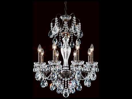 Schonbek Sonatina Eight-Light 21'' Wide Chandelier
