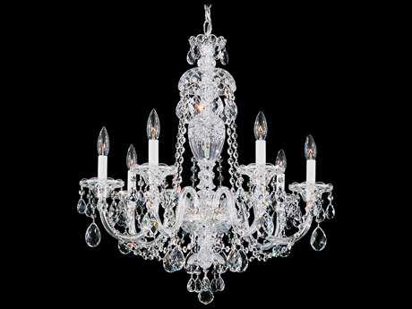 Schonbek Sterling Seven-Light 25'' Wide Chandelier S52995