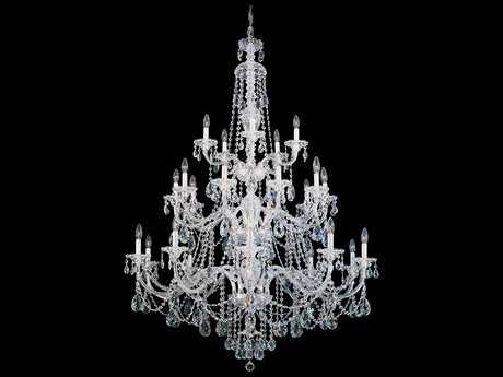 Schonbek Sterling 25-Light 45'' Wide Grand Chandelier