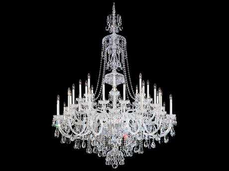Schonbek Sterling 45-Light 60'' Wide Grand Chandelier