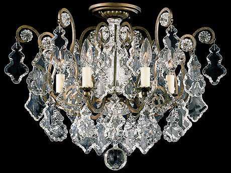 Schonbek Versailles Six-Light Semi-Flush Mount Light S52784