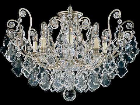 Schonbek Versailles Eight-Light Semi-Flush Mount Light S52785