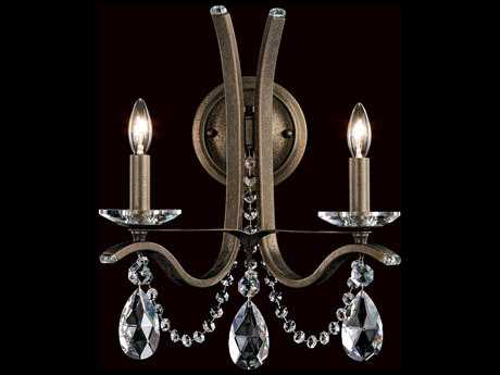Schonbek Vesca Two-Light Wall Sconce S5VA8332